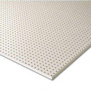 Гіпсокартон Knauf Cleaneo Akustik 10/23R 4SK 12,5х1196х2001 мм білий