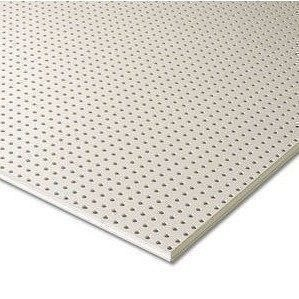 Гипсокартон Knauf Cleaneo Akustik 10/23R 4SK 12,5х1196х2001 мм белый