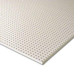 Гипсокартон Knauf Cleaneo Akustik 12/25R FF 12,5х1200х2000 мм белый