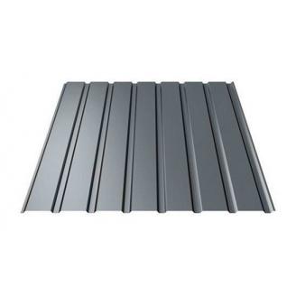 Профнастил Ruukki Т15-115 Polyester фасадный 13,5 мм темно-серый