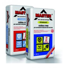 Клеевая смесь Master Standard для закрепления облицовочных материалов цементно-песчаная 25 кг