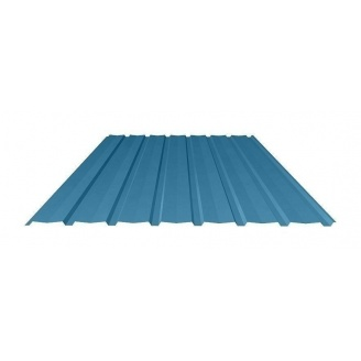 Профнастил Ruukki Т15-115V Polyester фасадный 13,5 мм синий