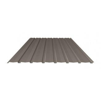Профнастил Ruukki Т15-115V Pural matt фасадный 13,5 мм темно-коричневый