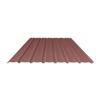 Профнастил Ruukki Т15-115V Pural matt фасадный 13,5 мм шоколадный