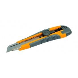 Нож с пластмассовой ручкой MASTERTOOL 18 мм