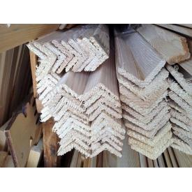 Уголок деревянный сосна 5х20х2500 мм