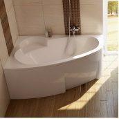 Ванна акриловая RAVAK Asymmetric асимметричная 160x105 см левая