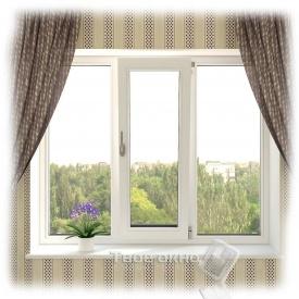 Вікно металопластикове Evrolain 1700х1350 мм