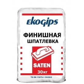 Шпаклевка гипсовая Екогіпс Saten 25 кг