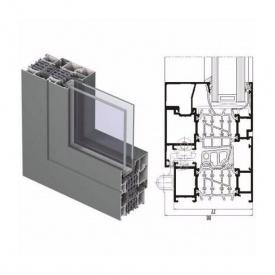 Виготовлення вікна з алюмінієвої системи Reynaers CS 86-HI