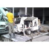 Аренда стационарного бетононасоса 20-90 м3/час