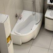 Ванна акриловая RAVAK Rosa 95 асимметричная 160x95 см левая