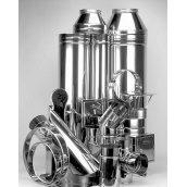 Дымоход ВК Мастер Пайп 0,8 мм нержавеющая сталь