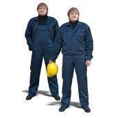 Полукомбинезон с курткой ТК-Спецодяг саржа синий