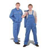 Полукомбинезон с курткой ТК-Спецодяг ортон синий