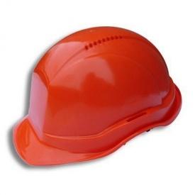 Каска строительно-монтажная ТК-Спецодяг Универсал пластик оранжевая