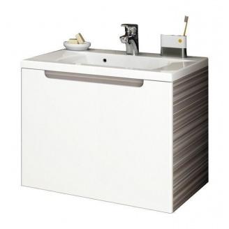 Шкафчик под умывальник RAVAK Classic SD 700 700x490x470 мм espresso/белый