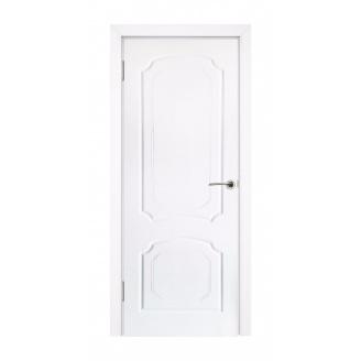 Дверь межкомнатная Двери Белоруссии Виктория ПГ 600х2000 мм белая эмаль