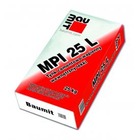 Штукатурка Baumit MPI 25 L 25 кг серый