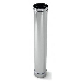 Труба димохідна нержавіюча сталь L-1 m D-100-450 m m 0,6 мм Fire Work