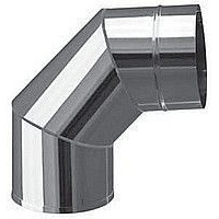 Колено 90 фиксированное Версия Люкс 0,8 мм D 100-300 мм