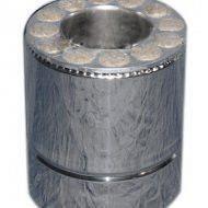 Труба оцинкованная термо 0,25 м Fire Work 0,6 мм