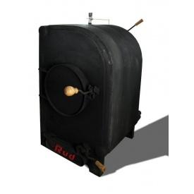 Піч булер'ян з водяним контуром без утепленого корпусу 20 кВт
