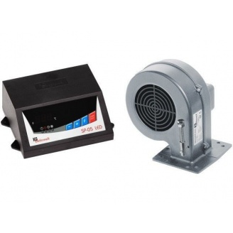 Контроллер твердотопливного котла KG ELEKTRONIK SP05 LED+DP02