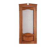 Дверь межкомнатная Двери Белоруссии 33 ПО 600x2000 мм патина