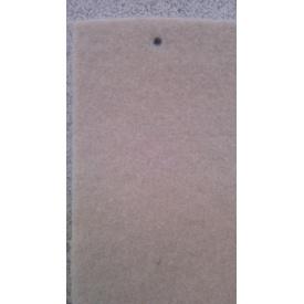 Виставковий ковролін на гумовій основі 2 м кремовий