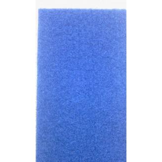 Выставочный ковролин на резиновой основе 2 м синий