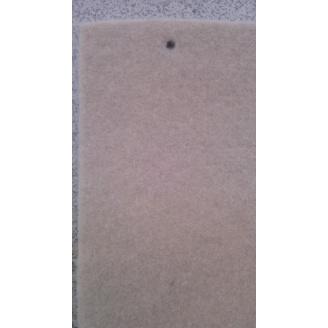 Выставочный ковролин на резиновой основе 2 м кремовый