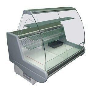 Холодильная витрина РОСС Siena-K кондитерская 1,1-1,7 с выпуклым стеклом