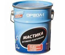 Мастика битумно-каучуковая Ореол-1 10 кг
