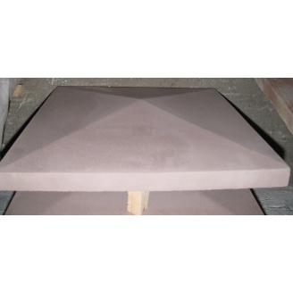 Крышка на столб гладкое 450х600х75 мм