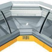 Холодильна вітрина РОСС Sorrento-УВ кутова внутрішня 2182х1247х1260 мм 485 Вт