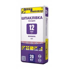 Шпаклевка БудМайстер ТИНК-12 3 кг серый