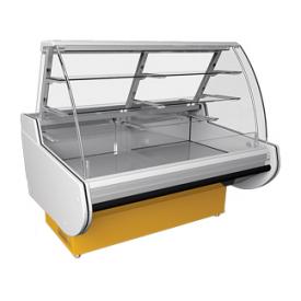 Холодильная витрина РОСС Belluno-K кондитерская 1590х920х1260 мм 535 Вт