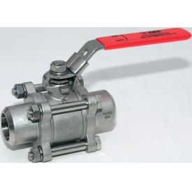 Шаровой кран ABO valve ART.943 DN 40 приварной