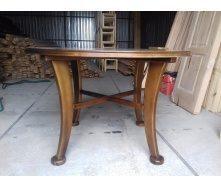 Стіл круглий дерев'яний 125 мм