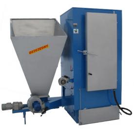 Твердопаливний котел тривалого горіння Wichlacz GKR 75/100 кВт сталь 6 мм фракція 1-30 мм