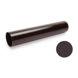 Водостічна труба Galeco PVC 90/50 50х2000 мм темно-коричневий