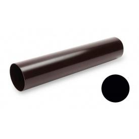 Водостічна труба Galeco PVC SP080 80х4000 мм чорний