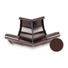 Кут внутрішній 135 градусів Galeco PVC 110/80 107 мм шоколадно-коричневий