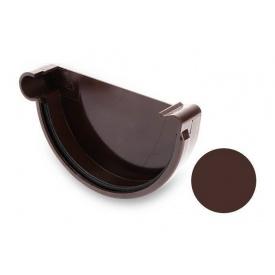 Заглушка ліва Galeco PVC 130 132 мм шоколадно-коричневий