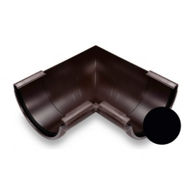 Кут зовнішній 90 градусів Galeco PVC 130 132х220 мм чорний