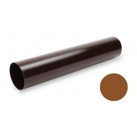 Водостічна труба Galeco PVC 130/100 100х4000 мм мідний