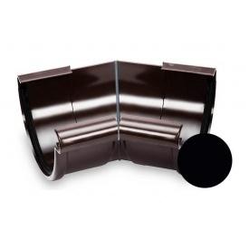 Кут внутрішній 135 градусів Galeco PVC 130 132 мм чорний