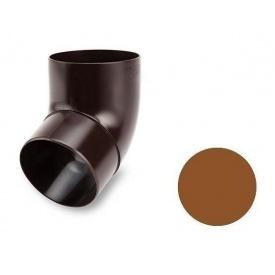 Коліно 67 градусів Galeco PVC 130/100 100 мм мідний