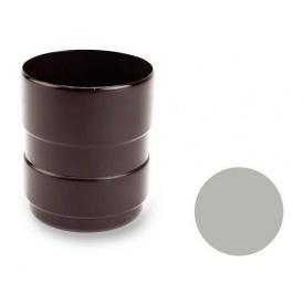 З'єднувальна муфта Galeco PVC 150/100 100х121 мм світло-сірий